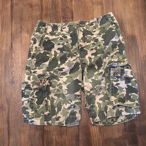 Aeropostale camouflage shorts